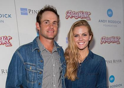 Newly expecting couple Brooklyn Decker and Andy Roddick attend the 10th Annual Andy Roddick Foundation Gala at ACL Live