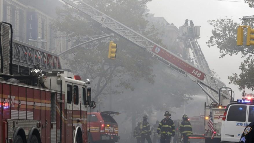One killed, four hurt in Brooklyn fire