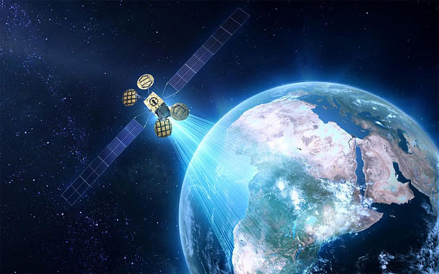 The AMOS 6 satellite which Facebook will use to beam internet to Africa