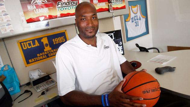 Former UCLA basketball star Ed O'Bannon in 2010. Isaac Brekken  AP