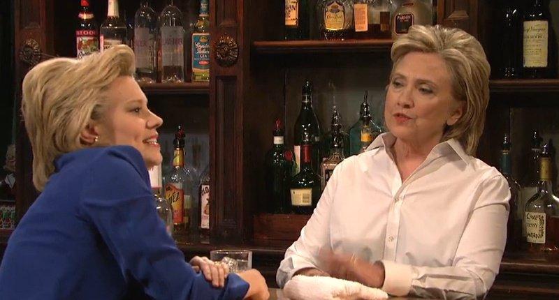 SNL castmember Kate McKinnon Hillary Clinton