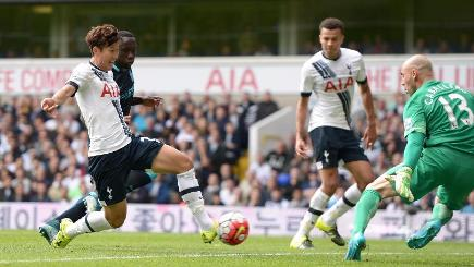 Son Heung-min left has impressed in his short time at Tottenham