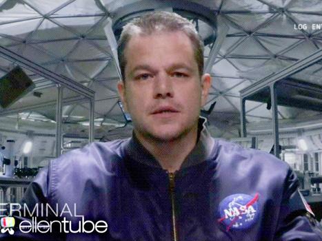 Matt Damon plays a man stuck on Uranus