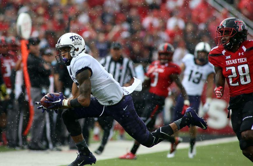 TCU WR Josh Doctson has incredible performance vs. Texas Tech