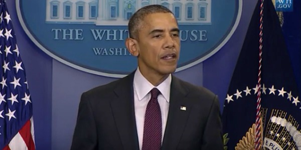 President Obama calls for new gun-control laws from the White House Thursday Oct. 1 2015 after the Umpqua Community College massacre in Roseburg Oregon