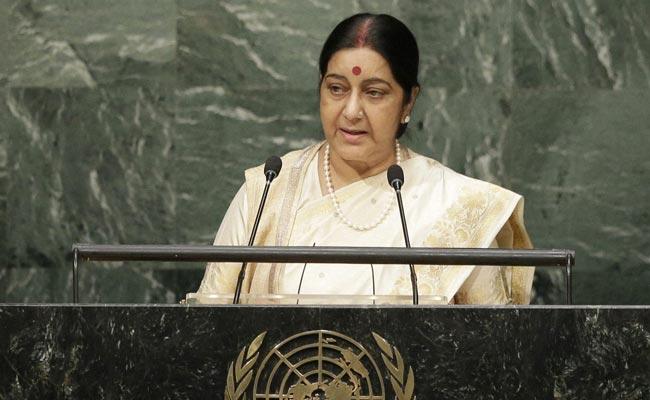 Sushma Swaraj's address to UNGA 2015 (Video)