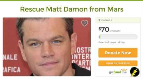 Rescue Matt Damon