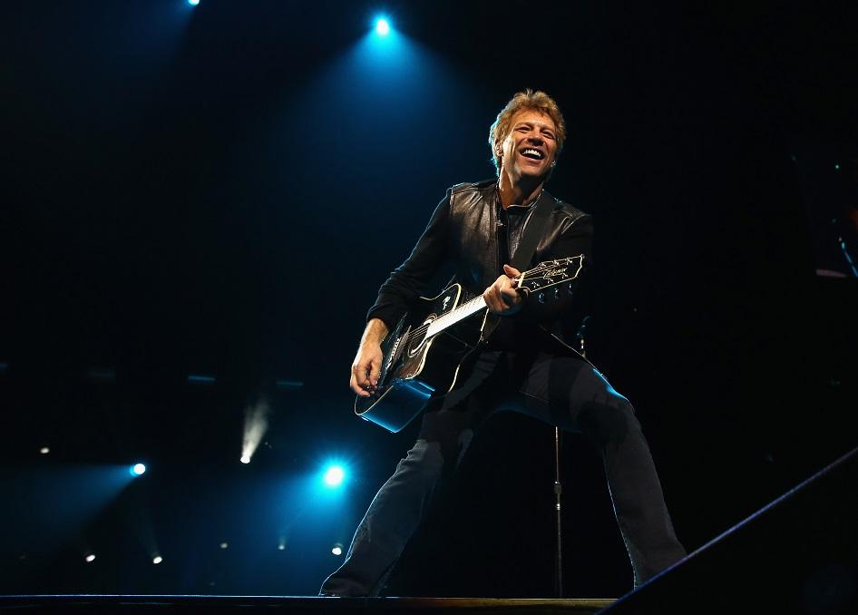 Jon Bon Jovi Honors Memory of High School Athlete: Watch