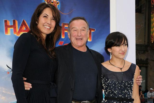 Susan Williams Robin Williams Zelda Williams