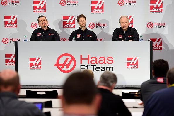 Romain Grosjean Haas 2016