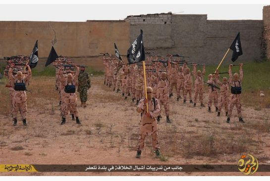25 2015 by a militant website young boys known as the'lion cubs hold rifles and Islamic State group flags as they exercise at a training camp in Tal Afar near Mosul northern Iraq. When world leaders convene for the U