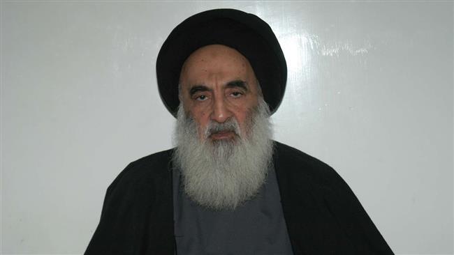Iraq's senior Shia cleric Grand Ayatollah Ali al-Sistani