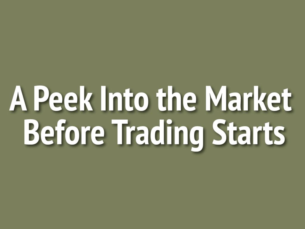 US Stock Futures Gain Ahead Of Economic Data