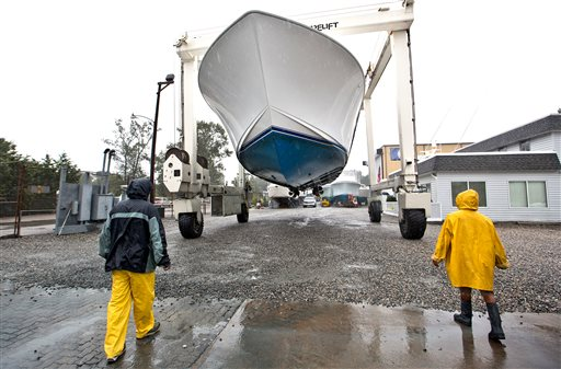 Hurricane Joaquin Could Add To Rainy Mess Along East Coast