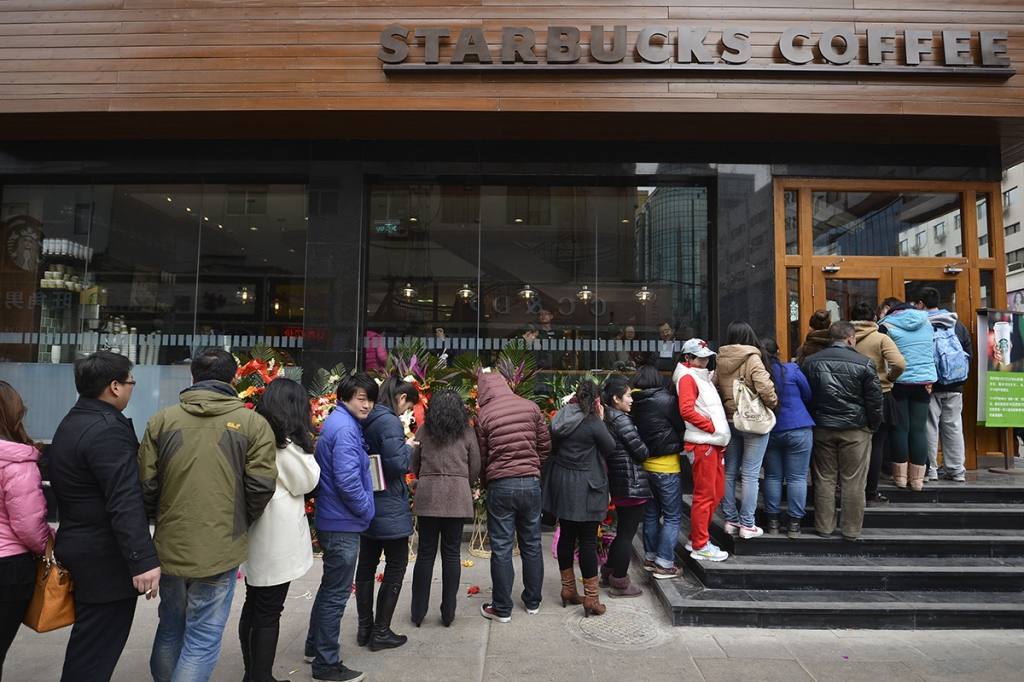 Starbucks rolls out mobile ordering in the UK