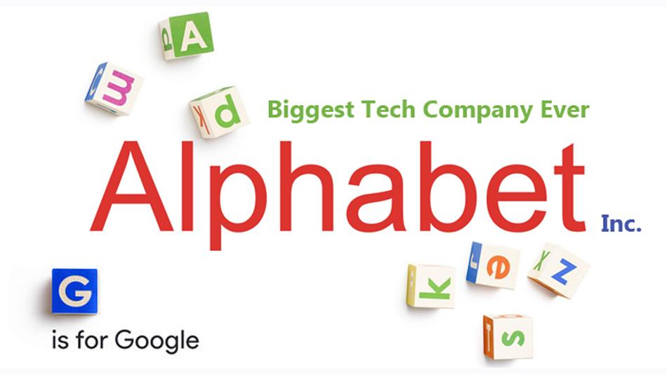 Google will start trading as Alphabet on Monday