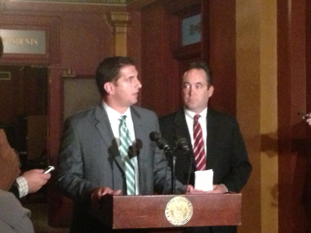 Governor, legislative leaders say they may meet again tonight