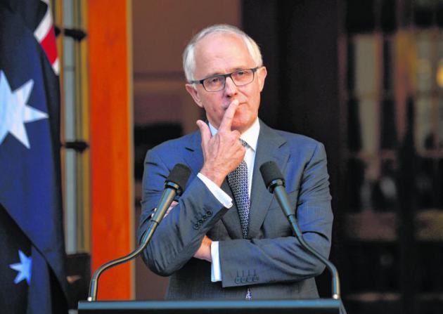 Australian Prime Minister Malcolm TurnbullAFP