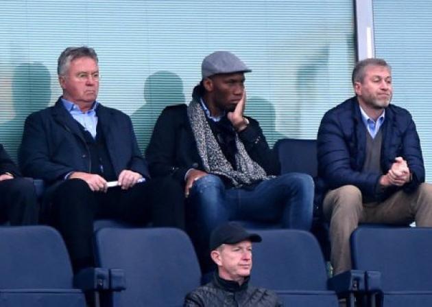 Drogba scored an FA Cup final goal in Hiddink