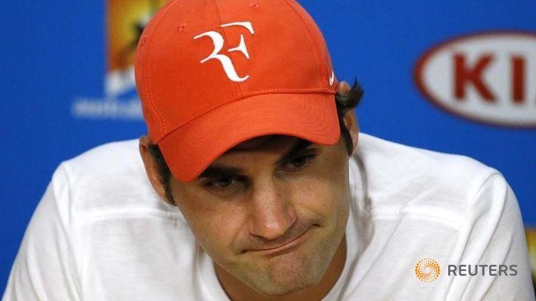 Federer sees light at end of dark tunnel