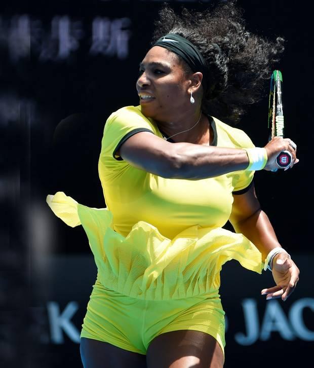 Mean streak Serena Williams extended her unbeaten run against Maria Sharapova