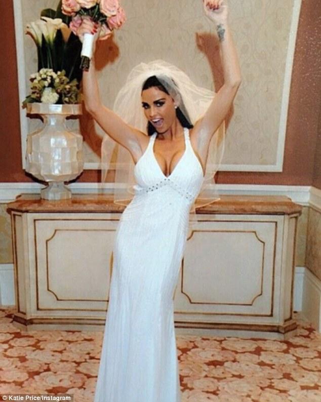 Katie Price Is Selling Her Wedding Dress