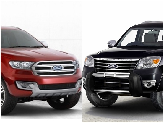 New Ford Endeavour India lauch price INR 24 75 lakh