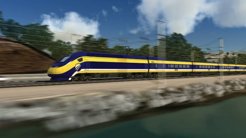 California's Bullet Train Will Now Start In the Bay Area Which Might Save It