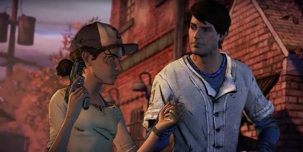 The Walking Dead Season 3 Clementine Javier