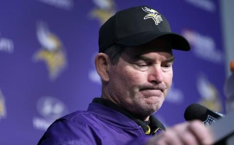 Minnesota Vikings players openly disregard Mike Zimmer's game plan