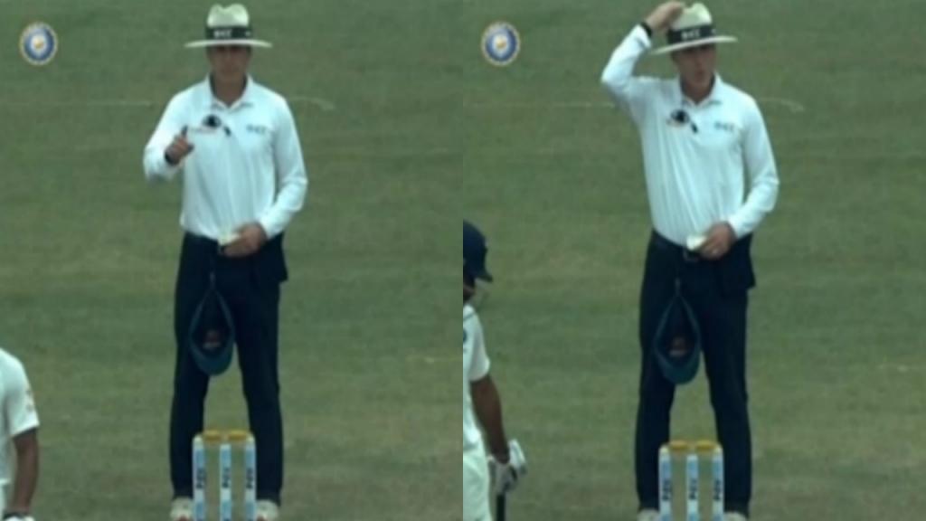 India vs Australia: Umpire Chris Gaffaney trolls Australia, watch video