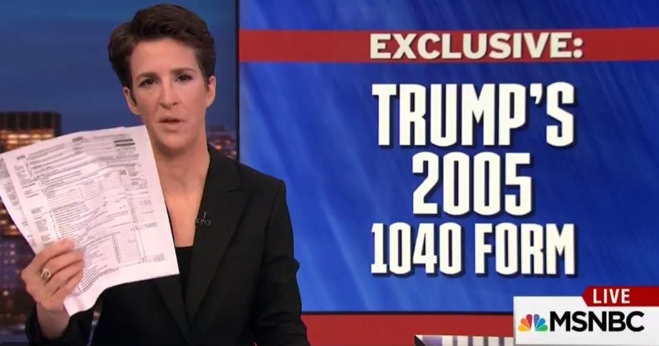Rachel Maddow Donald Trump