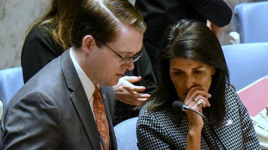 Russia Syria UN Nikki Haley
