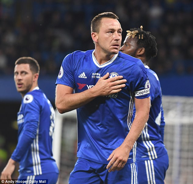 John Terry has revealed he may retire as a Chelsea player at the end of the season
