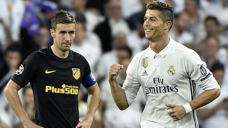 Ronaldo scored a hat-trick in Tuesday's win over Atletico Madrid