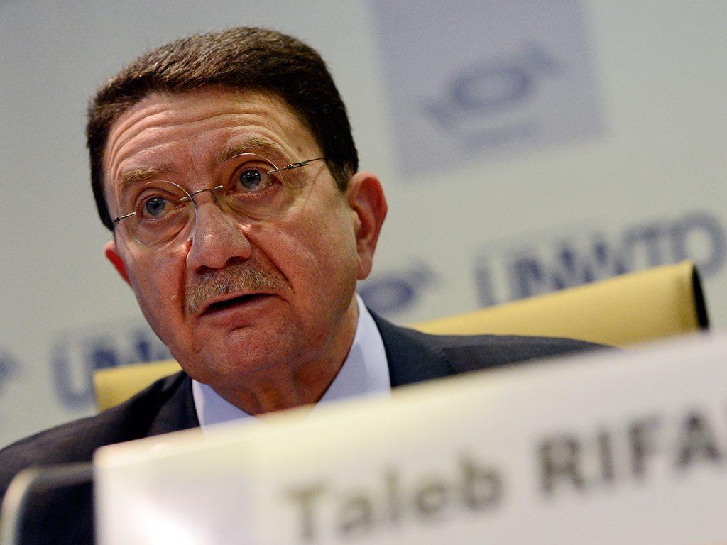 UNWTO Secretary General Taleb Rifai