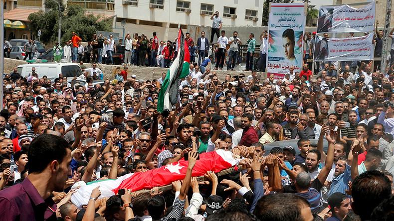 Heavy security presence around Israeli embassy in Jordanian capital: reports