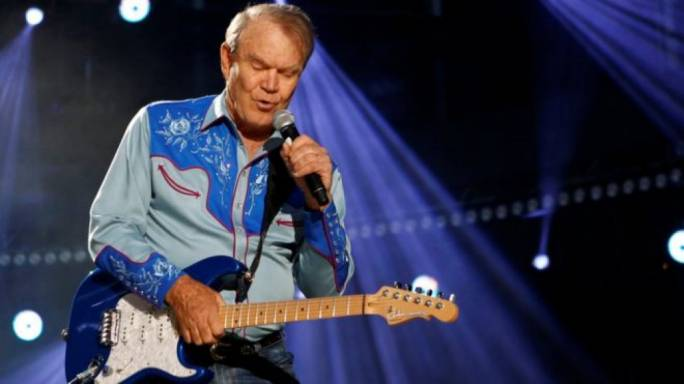 Glen Campbell performs in Nashville Tennessee in 2012