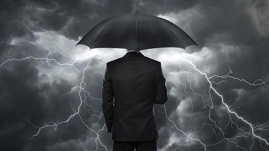 Investor weathering storm