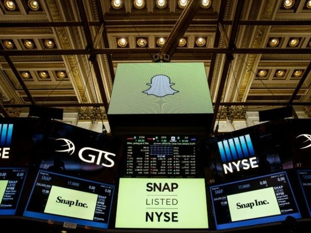 Snapchat is trading under the ticker'SNAP on the New York Stock Exchange
