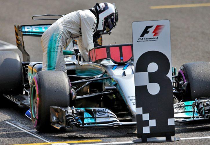 Valtteri Bottas Mercedes Belgian Grand Prix qualifying