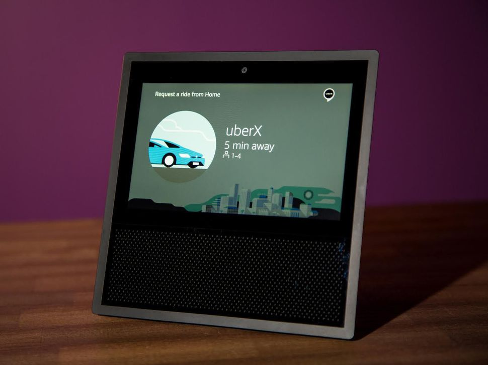 Amazon's Echo Show may soon get some competition from Google.                  Chris Monroe  CNET