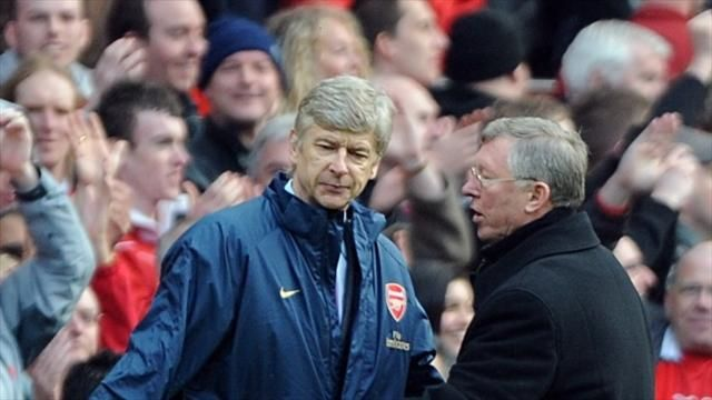 Wenger'always happy at Arsenal after United link surfaces