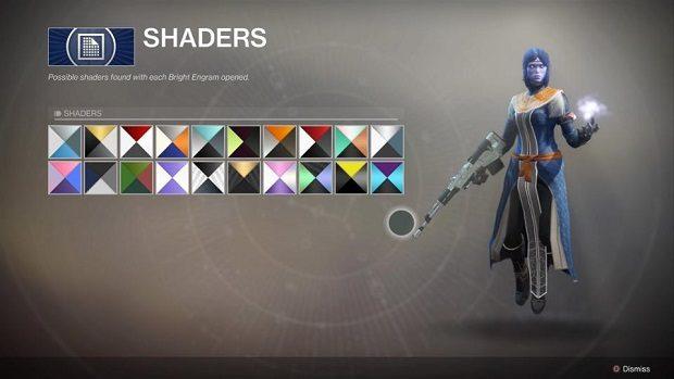 Destiny 2 Shaders