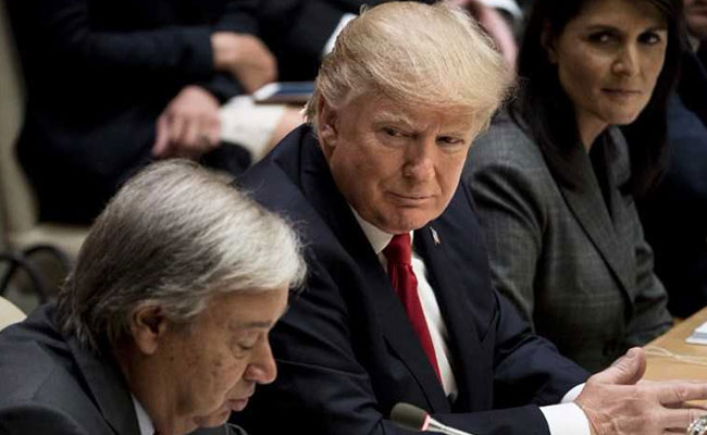Donald Trump Bats For Reform In United Nations Says US Will Help