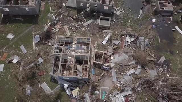 Hurricane Irma devastated the Caribbean island of Barbuda
