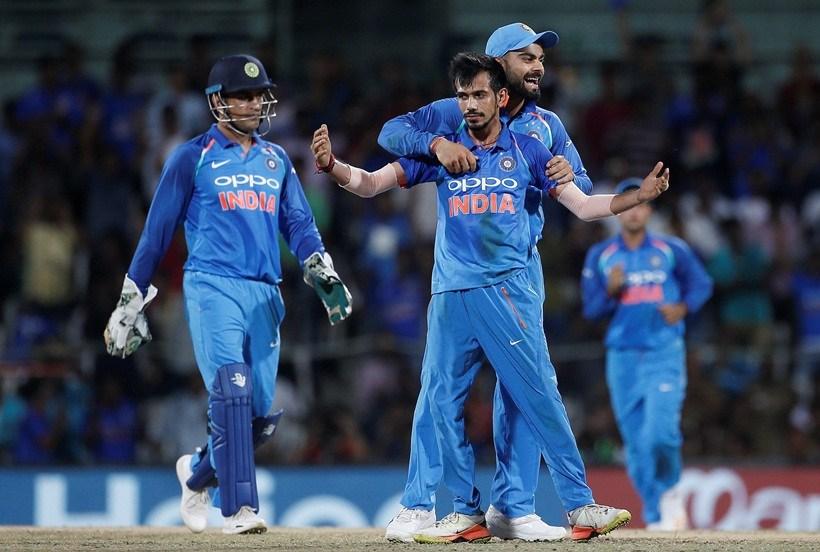 India Beat Australia by 26 runs via Duckworth Lewis method