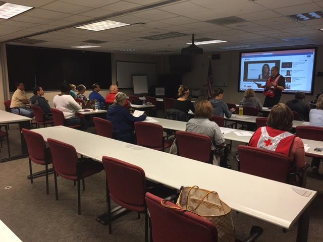 Red Cross volunteers spend Saturday preparing for upcoming Houston deployment