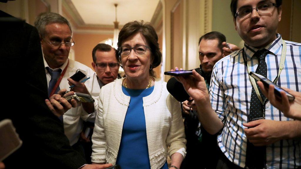 Sen. Susan Collins R-Maine