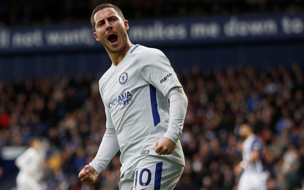 Eden Hazard hails Mohamed Salah as a'top top top player ahead of Chelsea's trip to Anfield